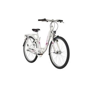 """Puky Skyride Light 24"""" Lapset lasten polkupyörä 3-vaihteinen , valkoinen"""
